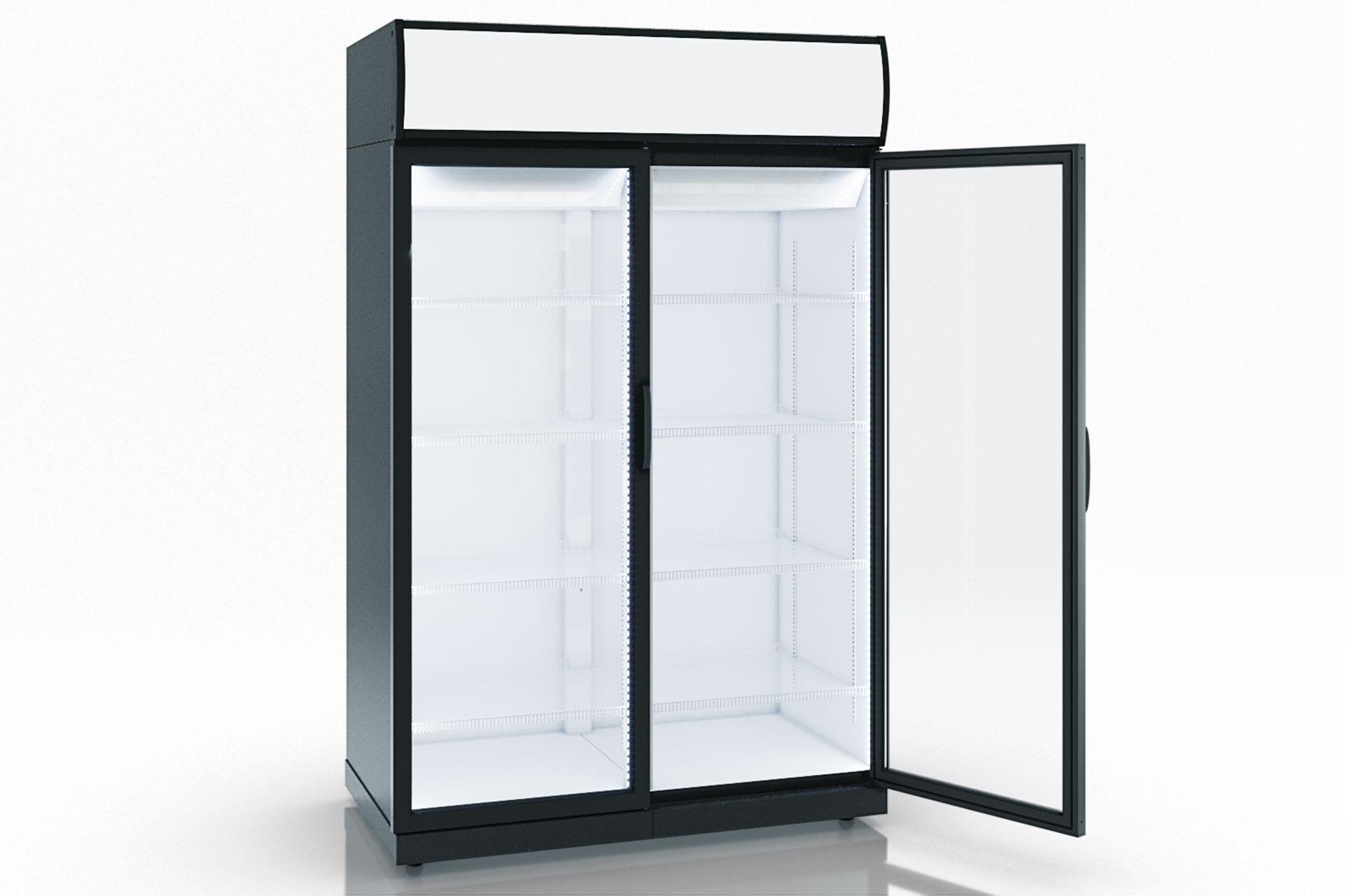 מקרר דלת זכוכית KANSAS VA