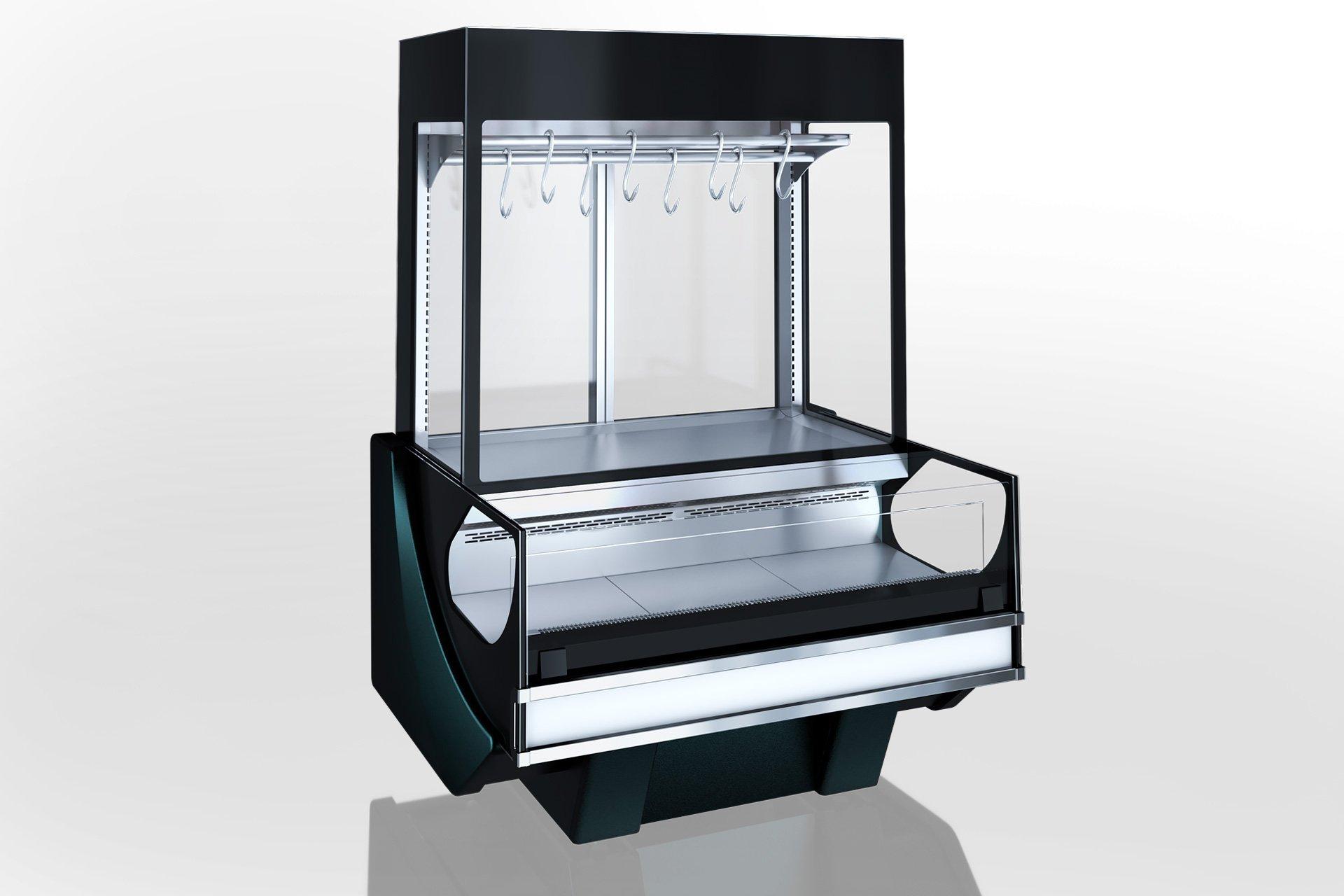 מקרר ויטרינה MISSOURI COLD DIAMOND MC 125 CRYSTAL COMBI S M/A