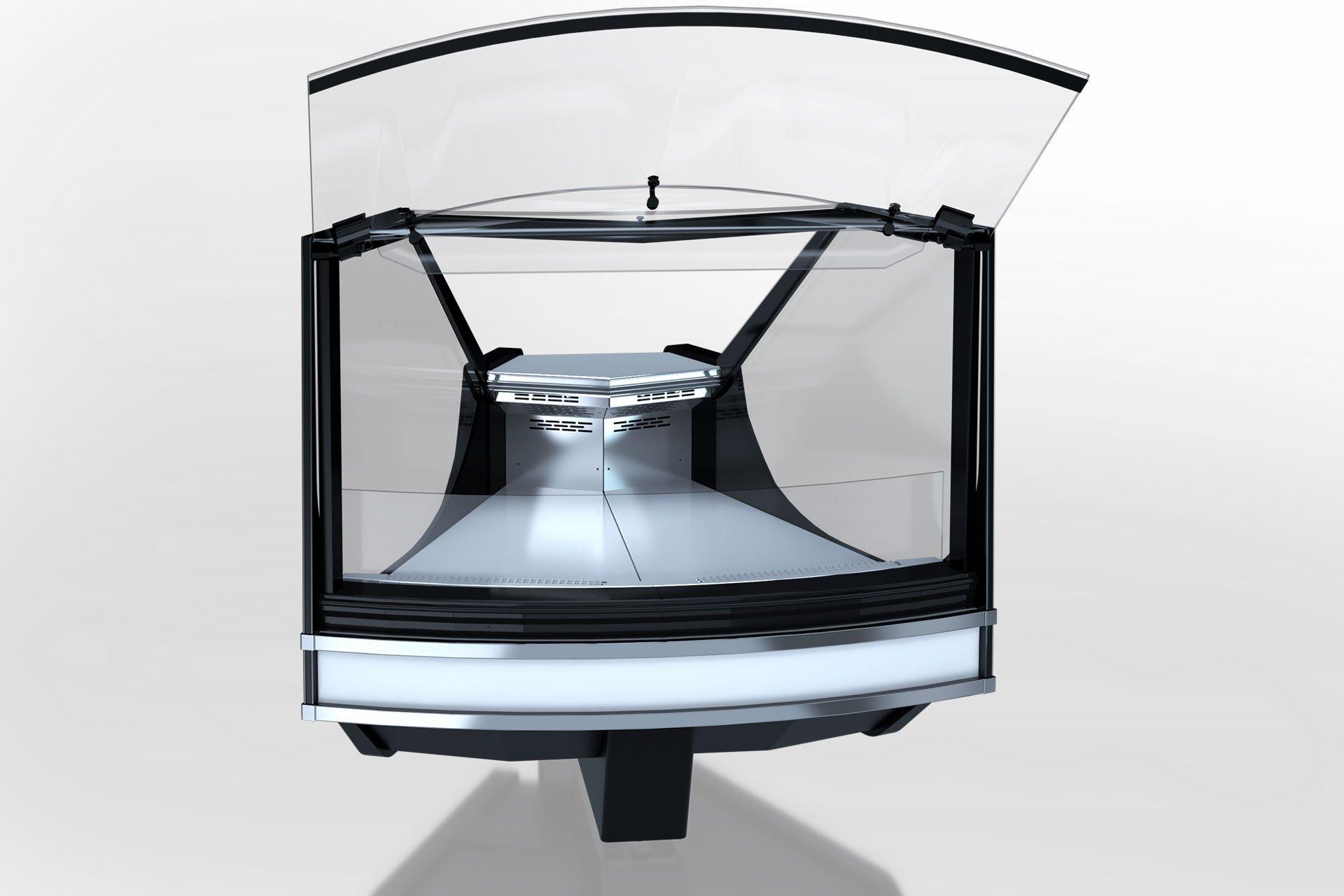 מקרר ויטרינה MISSOURI COLD DIAMOND MC 125 DELI PS/SELF M – ANGULAR ELEMENTS