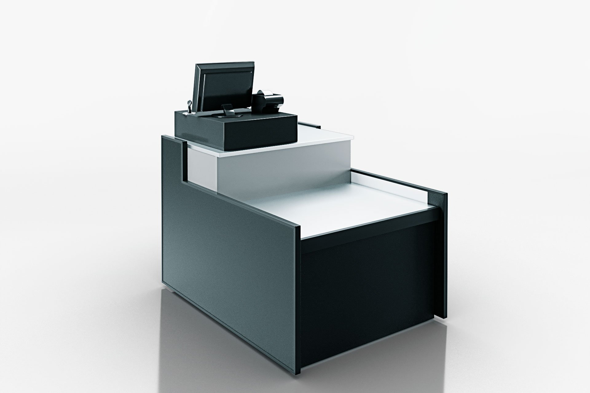 מקרר תצוגה MISSOURI NC 120 CASH DESK
