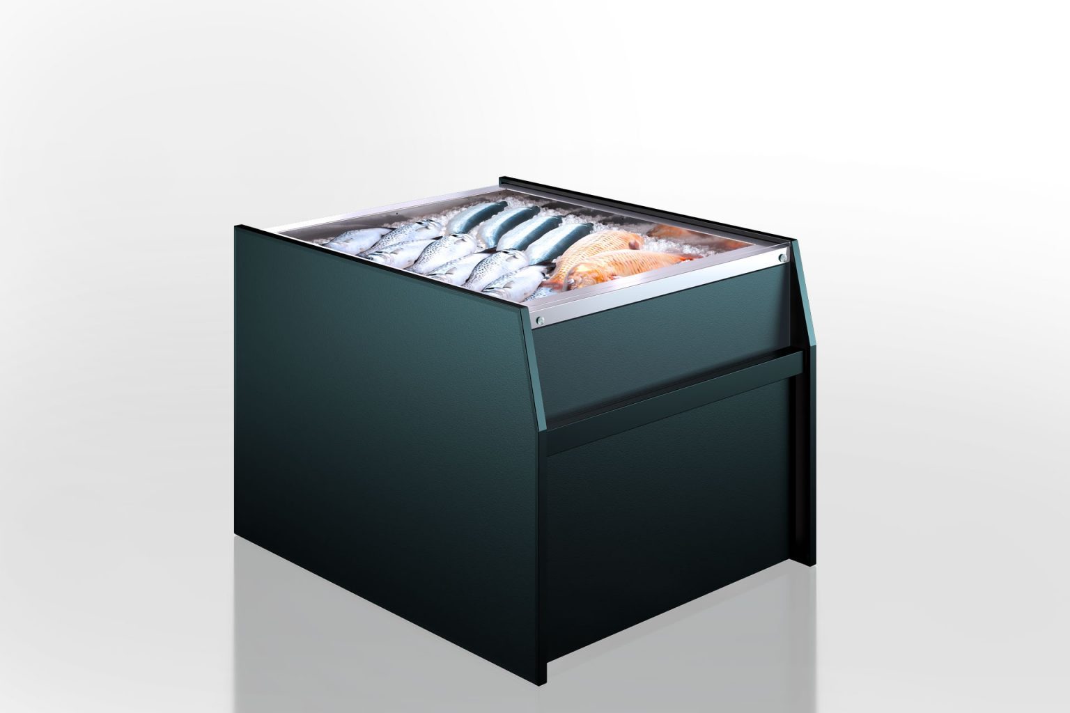 מקרר ויטרינה MISSOURI MC 120 ICE SELF