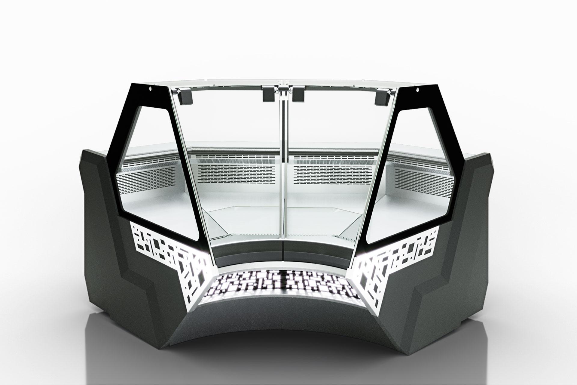 מקרר ויטרינה MISSOURI SAPPHIRE MK 115 DELI PS/OS/SELF M – ANGULAR ELEMENTS