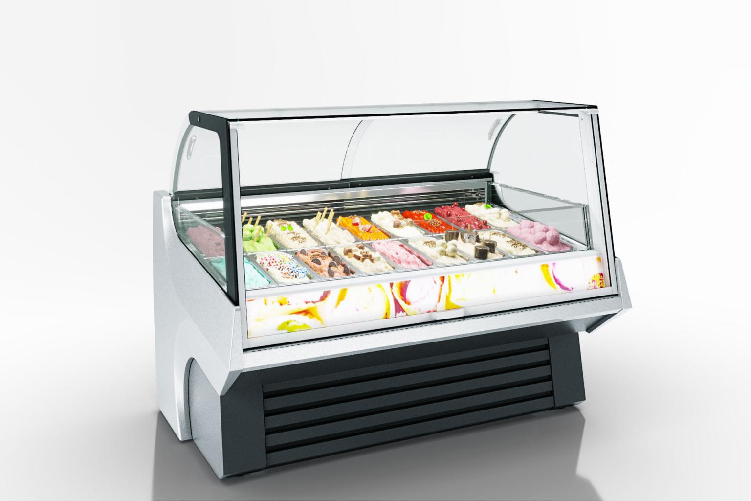 מקרר גלידות TENNESSEE AC 110 ICE-CREAM PS A